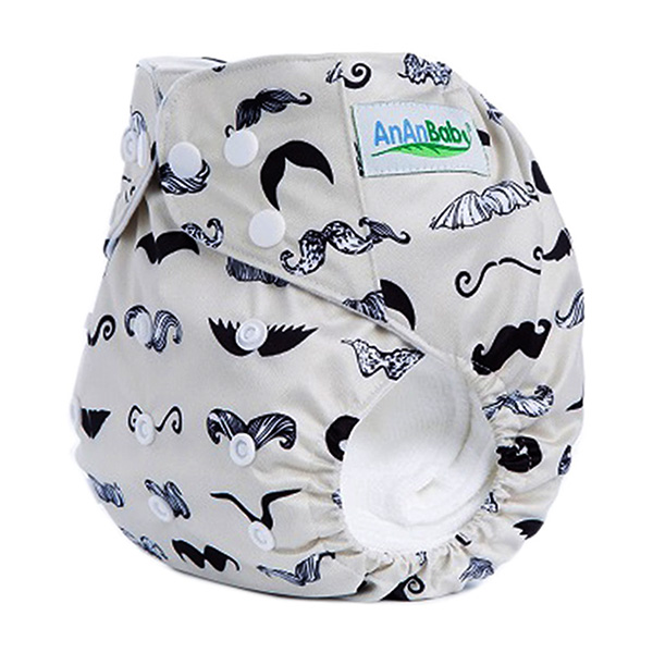 Digital Prints Baby Cloth Diaper Waterproof Reusable Nappies With Hip Snaps M-Series