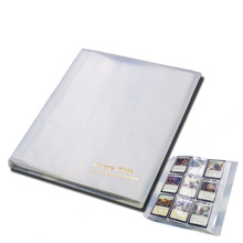 Carzy Kids Transparent MGT Cards Album With 9 Pockets Pages Hold 144 Cards For Magic/PKM/FOW/YGO(China)