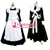 Free Shipping Sissy Maid Dress Lockable Uniform Cosplay Costume Tailor-made