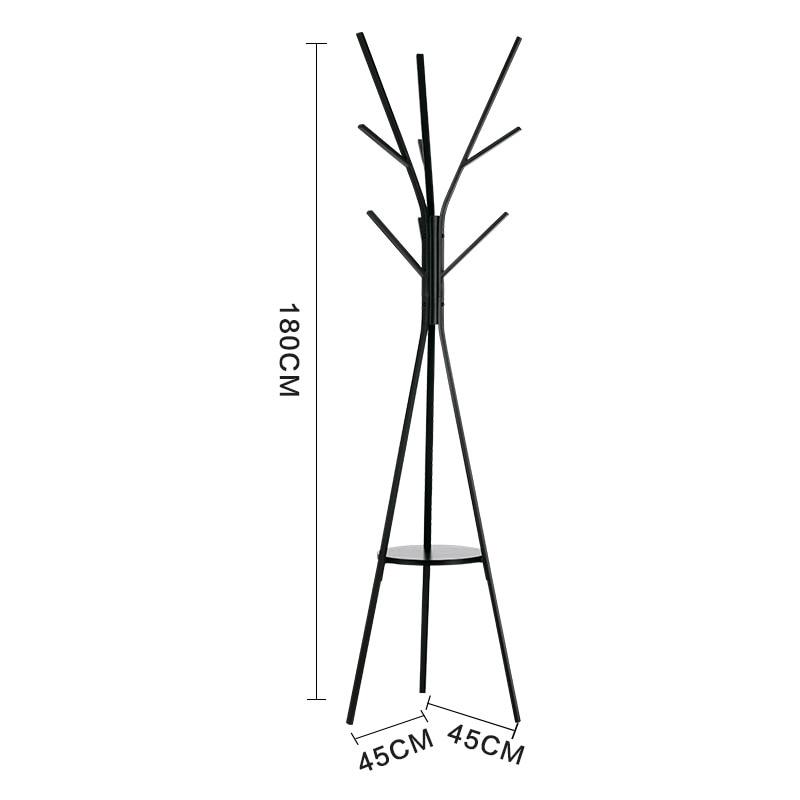 Metalo medžio stiliaus paltai stovi kūrybinis paltai lentynos - Organizavimas ir saugojimas namuose - Nuotrauka 4