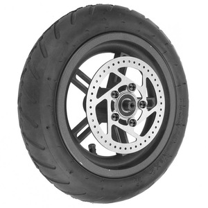 Image 3 - Electric Scooter Tyre with Disc Brake Disc Scooter Pneumatic Tire Rear Wheel Disc Brake Tyre for Xiaomi M365 Electric Scooter