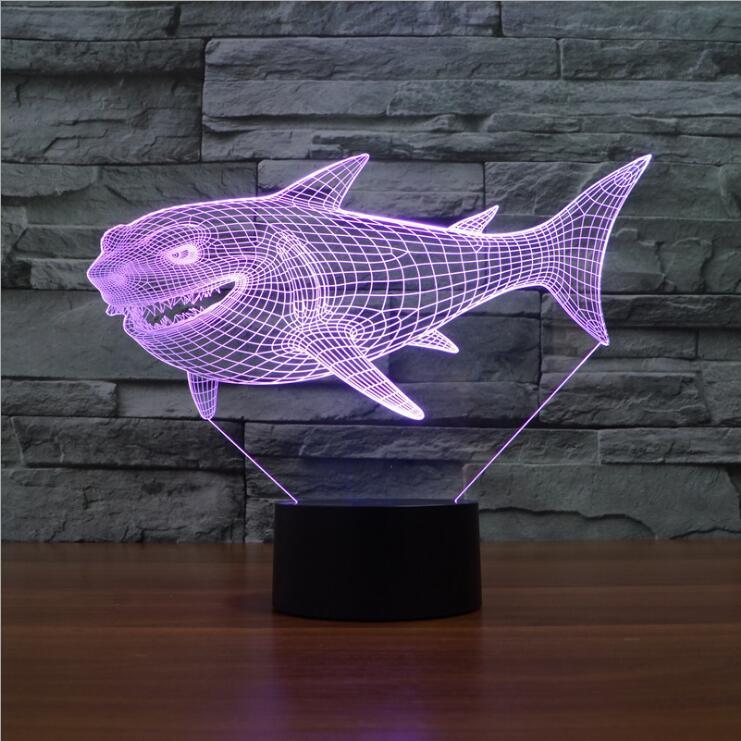 New Arrival 3D Led Night Light Lighting Pixar Nemo Animal
