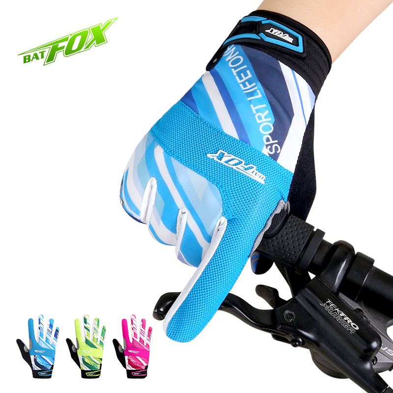 BATFOX Cycling Gloves Winter Bike Bicycle Gloves Full Finger Men Women Thermal PRO Downhill Fixed Gear MTB Gel Pads Luvas