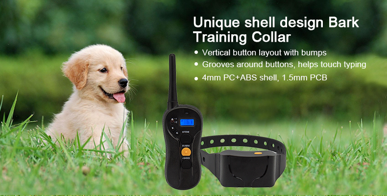 bark training collar