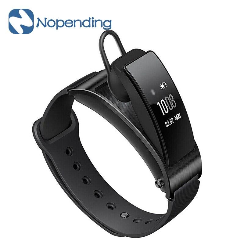 New Original Huawei TalkBand B3 Bluetooth 4.2 Headset Smart Bracelet IP57 Waterproof Modes Sports Fitness Tracker Call Reminder