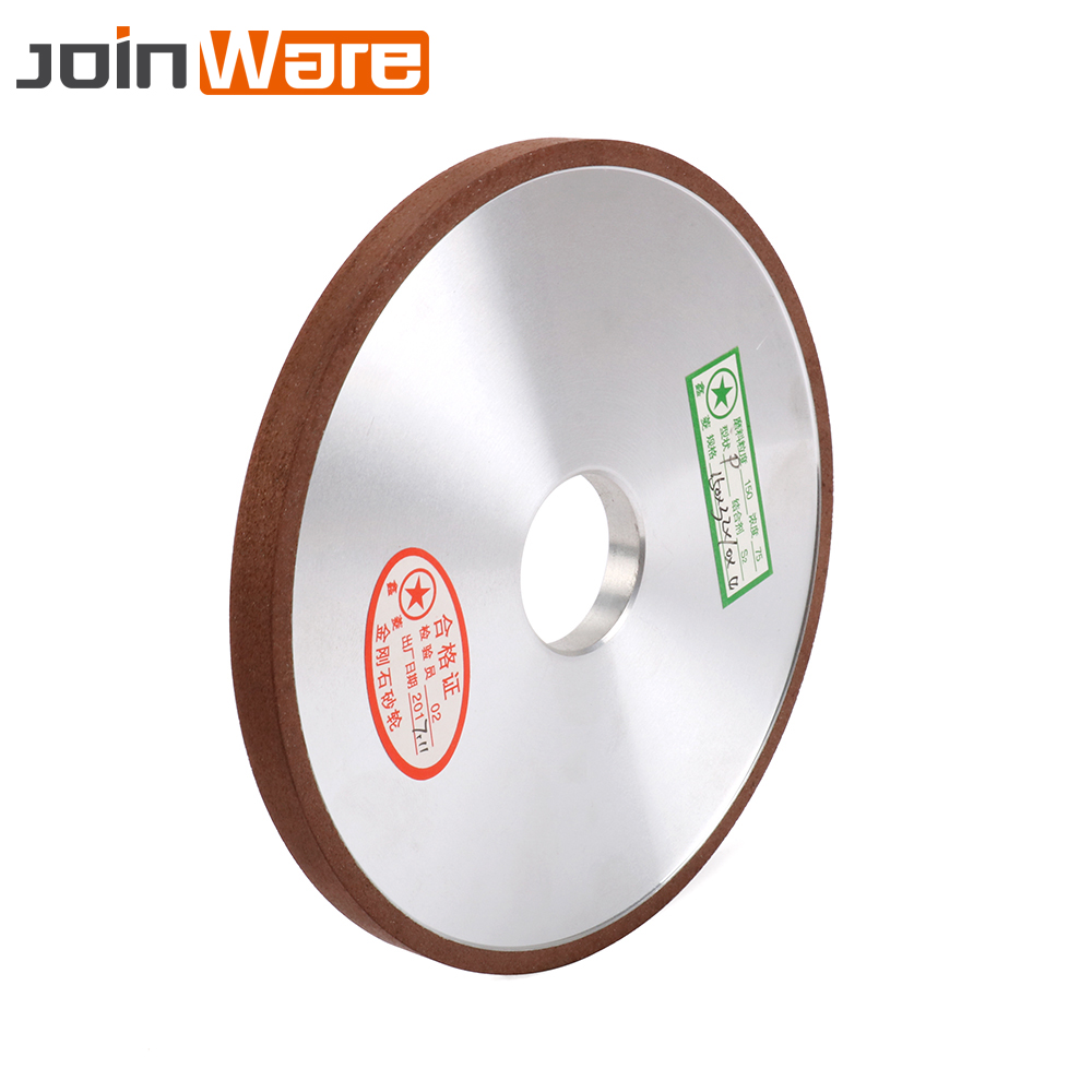 150mm Diamond Grinding Wheel Flat Resin Bond Grinder Disc For Milling Cutter Sharpener Abrasive Rotary Tool 150x32x10x4mm 6inch