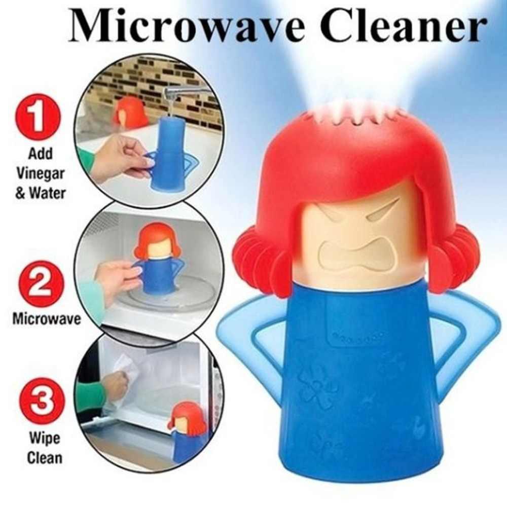 Совершенно новый Angry Mama очиститель микроволновки легко очищает микроволновую печь пароочиститель приборы для кухонного холодильника cleani