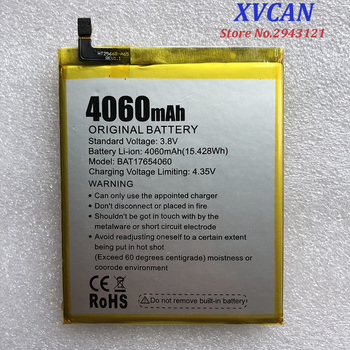 100% New Original DOOGEE Mix2 Battery Replacement 4060mAh Parts backup battery for DOOGEE Mix 2 Smart Phone