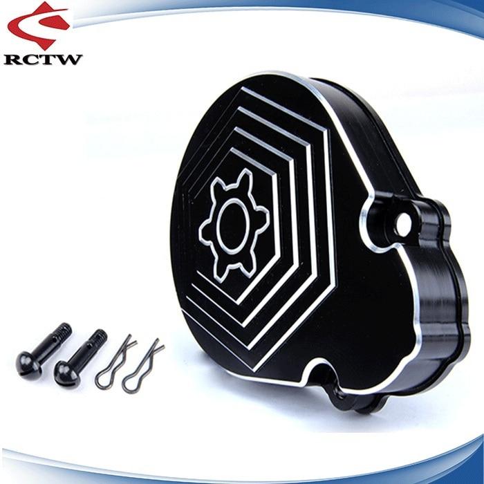 CNC Metal gear cover for 1/5 rc car baja 5b/5T/5SC parts 45kg metal gear plastic shell digital steering arm for 1 5 hpi baja 5b 5sc 5t rc car parts