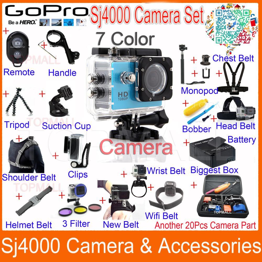 3d frame /& Tripod Mount para GoPro go pro HD Hero 3 Black accesorios adaptador de trípode