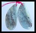 Натуральный Камень Геометрическая Синий Кианит arrings, 27*12*5 мм, 7.3 г полудрагоценный камень серьги из бисера изящных ювелирных изделий ювелирных изделий