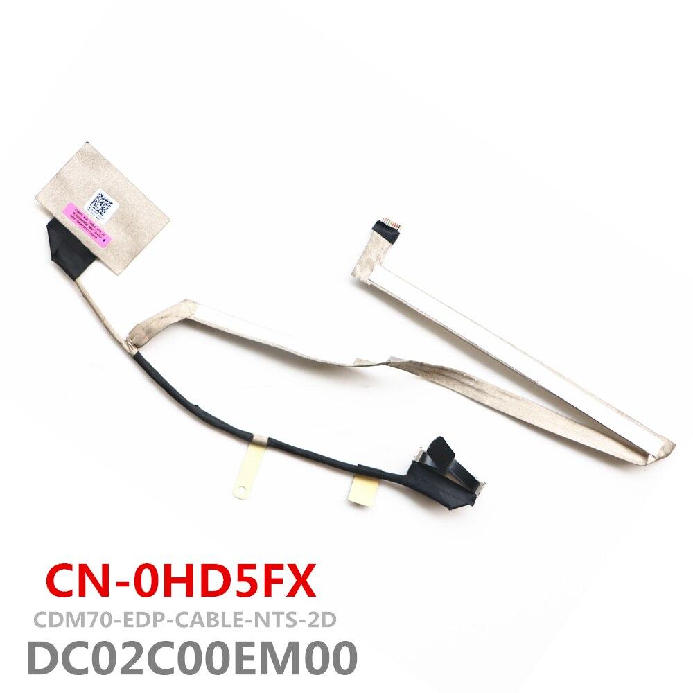Новый CDM70 DC02C00EM00 кабель для Dell Latitude E5480 ЖК-монитор LVDS кабель CN-0HD5FX