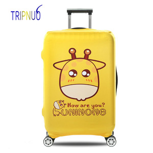 TRIPNUO Cartoon Giraffe Luggag