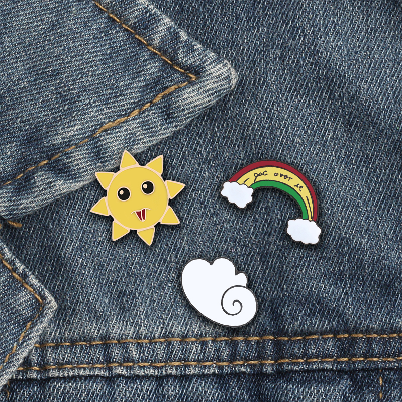 Symbol Of The Brand 1 Pcs Vintage Phonograph Metal Badge Brooch Button Pins Denim Jacket Pin Jewelry Decoration Badge For Clothes Lapel Pins Home & Garden Apparel Sewing & Fabric