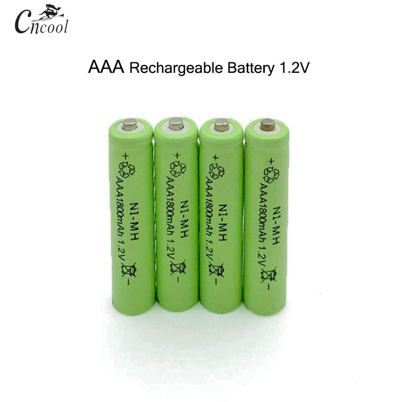 4pcs/lot New AAA 1800mAh NI-MH 1.2V Rechargeable Battery AAA Battery 3A rechargeable battery NI-MH battery for camera,toys new for 2016 2 pcs aaa 3a 1800mah 1 2v ni mh rechargeable battery