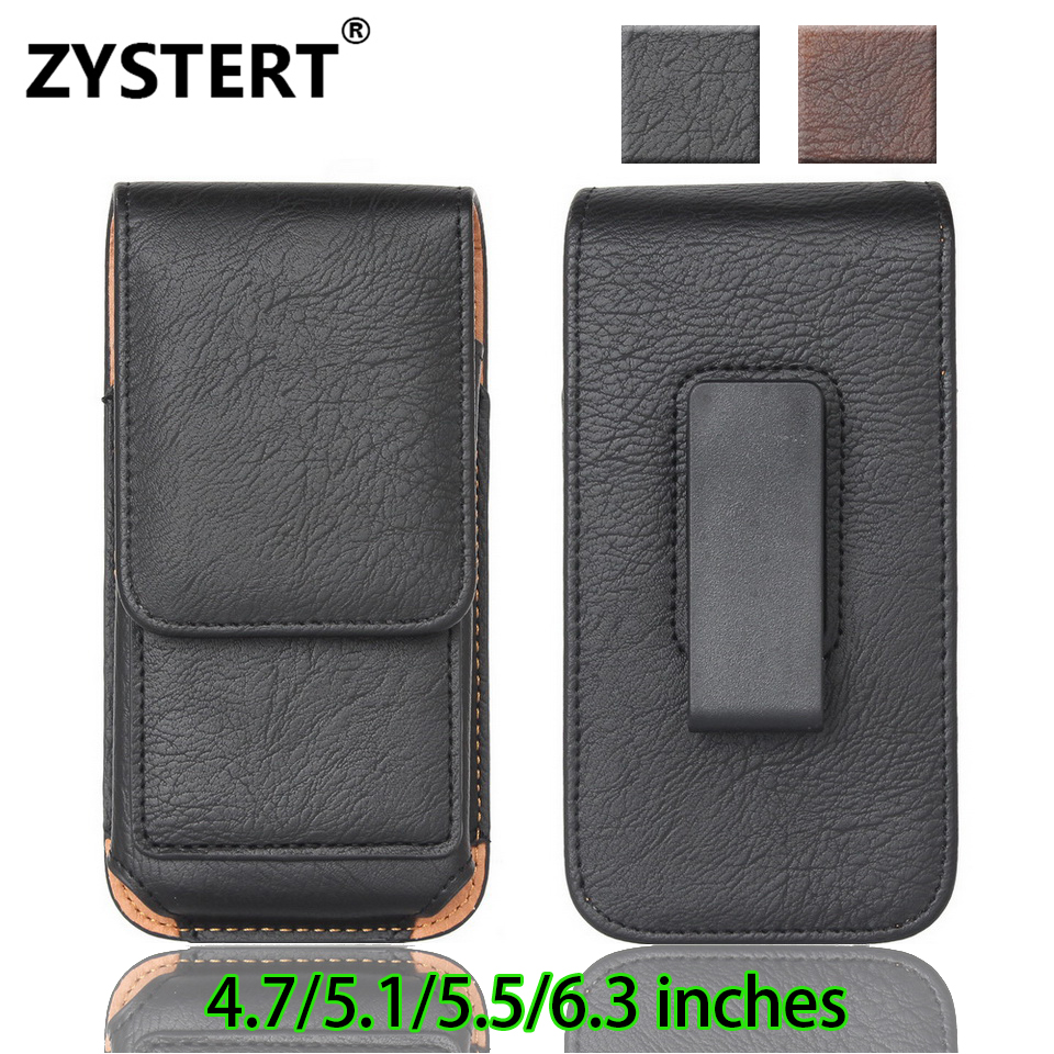 Rotating Belt Clip Fundas For Samsung S8 plus Flip Leather Card Bag Wallet Cover For Samsung Note 8 J7 Case Cross section waist