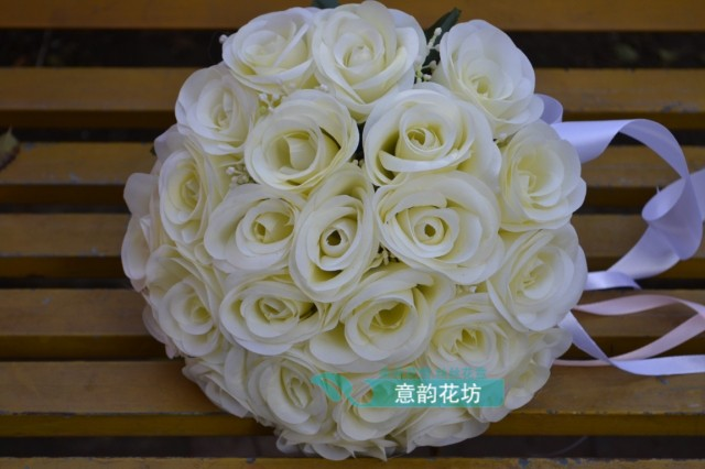 wedding bouquets for cheap 2017 cheap wedding bridesmaid bridal bouquet ᐂ new new 8511