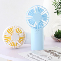 Mini Electric Fan USB Charging Net Red Creative Fan Mute Small Simple Hand held Fast Charging Continuous Use for 20 Hours