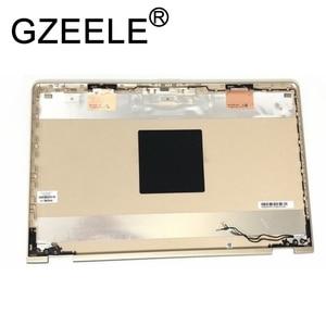 GZEELE новый для HP PAVILION x360 15-BR ноутбук Топ lcd задняя крышка чехол пластиковая верхняя крышка чехол 924500-001 золотой цвет 924502-001