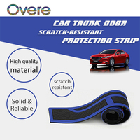 Overe 1Set Auto Car Rear Bumper Trunk Stickers For Hyundai Solaris I30 creta IX25 Suzuki Swift SX4 Lada Vesta Granta Kalina