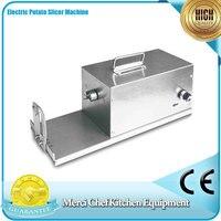 Electric Potato Twister Tornado Slicer Machine Automatic Spiral Cutter Vegetable Slicer Twister 110 220v