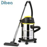 Dibea DU100 баррель Тип пылесос 15L Ёмкость влажной/сухой пылесборник бытовой химии Приспособления с всасывания кисти