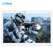 2017 New 4G LTE Android 6.0 Tablets PC Tab Pad 10.1 Inch IPS Screen Octa Core 4GB RAM 64GB ROM Dual SIM Card WIFI GPS 10.1""