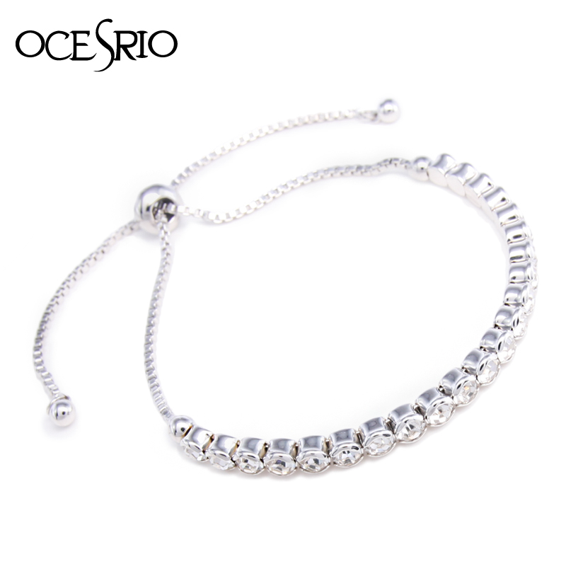 Aliexpress.com : Buy High Quality Simple Silver Bracelet ...