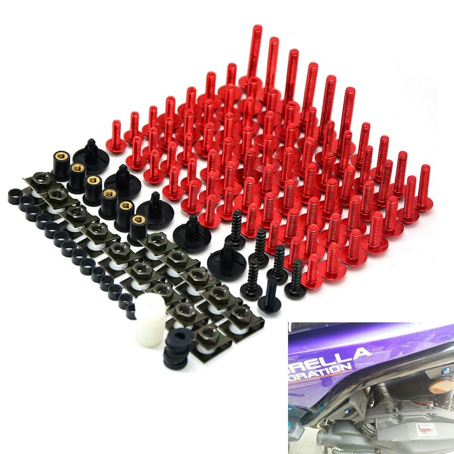 Motorcycle accessories Fairing Bolt Screw Fastener Fixation for honda crf 450r klx 250 yamaha headlight bmw e70 yamaha headlight