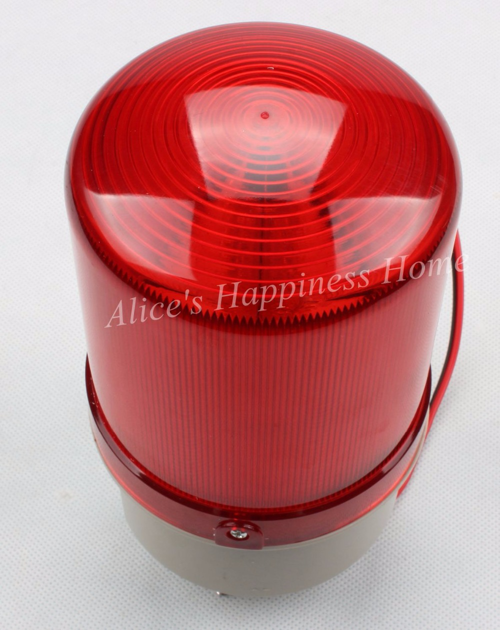 AC220V Wired Flash Strobe Blinking Siren Sound and Quiet Alarm 2in1 Industrial Warning Light with Alarm LTE-5110 dmwd ac220v wired flash strobe blinking siren sound industrial warning light with alarm lte 1101j indicator light