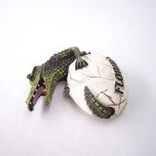 купить!  магнит на холодильник сувенир из скорлупы крокодил флорида сша расписанные смолой холодильник