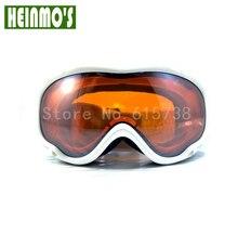New ski goggles dual lens uv protection snow skiing glasses snowboard anti-fog eyewear goggle bilayer lens Orange Lens