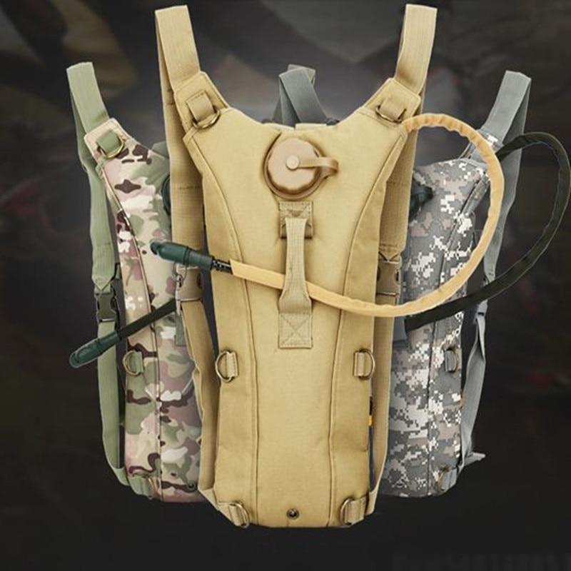Taktický vojenský vodní hydratační nosič 3L BackPack s - Sportovní tašky
