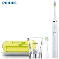 Philips Sonic электрическая зубная щетка HX9332/04 С перезаряжаемая чашка 5 способов очищения тонкая мягкая 31000R/M Водонепроницаемая Алмазная
