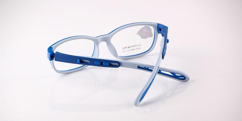 Pastiglie di materiale leggero in silicone per occhiali da vista - nero PA7Ax