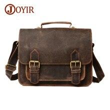 Luxus Marke Vintage Männer Aktentasche Aus Echtem Leder Lässig Handtaschen Mann Taschen Rindsleder Umhängetasche Männer Messenger Bags