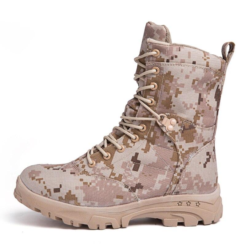 En Plein Antidérapantes camouflage Véritable D'hiver Imperméables Martin Respirant Coton Cuir Neige Bottes Chaussures Hommes Vert Air De BwSwFz8