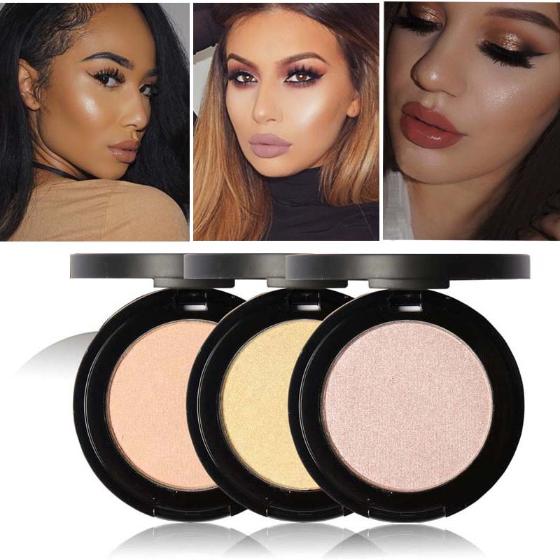 focallure brand face makeup powder waterproof minerals shimmer brightener contour glow powder. Black Bedroom Furniture Sets. Home Design Ideas