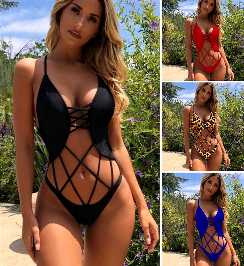 Sports & Entertainment Phaixoneible 2019 New One Piece Swimsuit Women Swimwear Sexy Monokini Push Up Bathing Suit Female Trikini Lady Beachwear