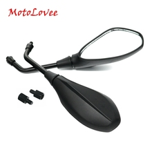 New Universal Replacement Motorcycle Mirror Motorbike Scooter Rear View Mirrors 10mm 8mm Refit Part For Honda Suzuki