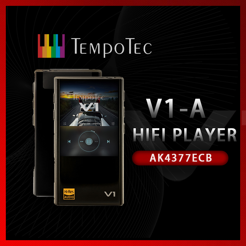 TempoTec Variations V1 A HIFI PCM DSD 256 PLAYER Support Bluetooth LDAC AAC APTX IN OUT