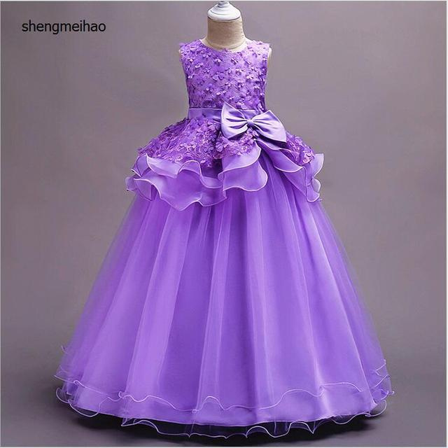 63559c846752 2018 little flower girls dresses for weddings Baby Party frocks sexy  children images Dress kids prom dresses evening gowns2-14Y