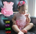 Лето розовый кружево тело младенцы девочек детские комбинезоны Macacao Ropa Bebe новорожденный девочка ползунки комбинезон дети одежда младенческой одежда