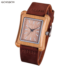 Wooden Watch Men Minimalist Creative Styal Mens Nature Wood