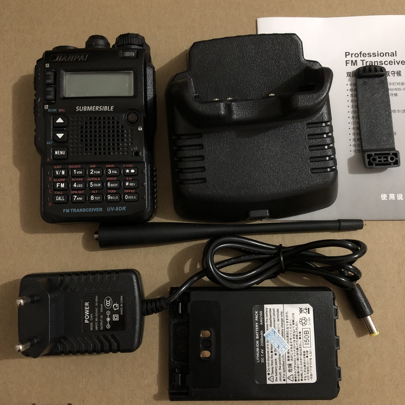 Image 5 - JianPai UV 8DR walkie talkie two way radio 136 174/400 520mhz Portable Ham CB Radio  DMR radio equipment-in Walkie Talkie from Cellphones & Telecommunications