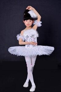 Image 3 - New Arrival Children Ballet Tutu Dress Swan Lake Multicolor Ballet Costumes Kids Girl Ballet Dress for Children