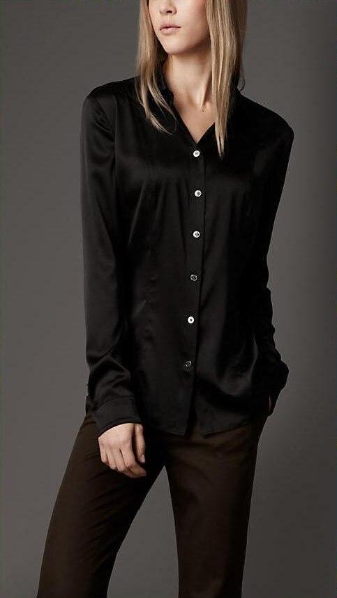 Black Ladies Shirt