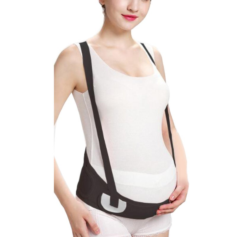 Thin Section Breathable Pregnant Women Special Stomach Lift Belt Prenatal Pregnancy With Shoulder Strap Protection Waist