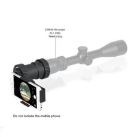 Tactical Military Camera Holder For Riflescope Black Color Hunting Outdoor Sport CL33 0202