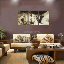 100% hand-painted moidern abstract oil painting on canvas Sexy Marilyn Monroe Picture sitting room adornment wall art